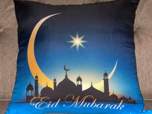 Blue Eid Pillow