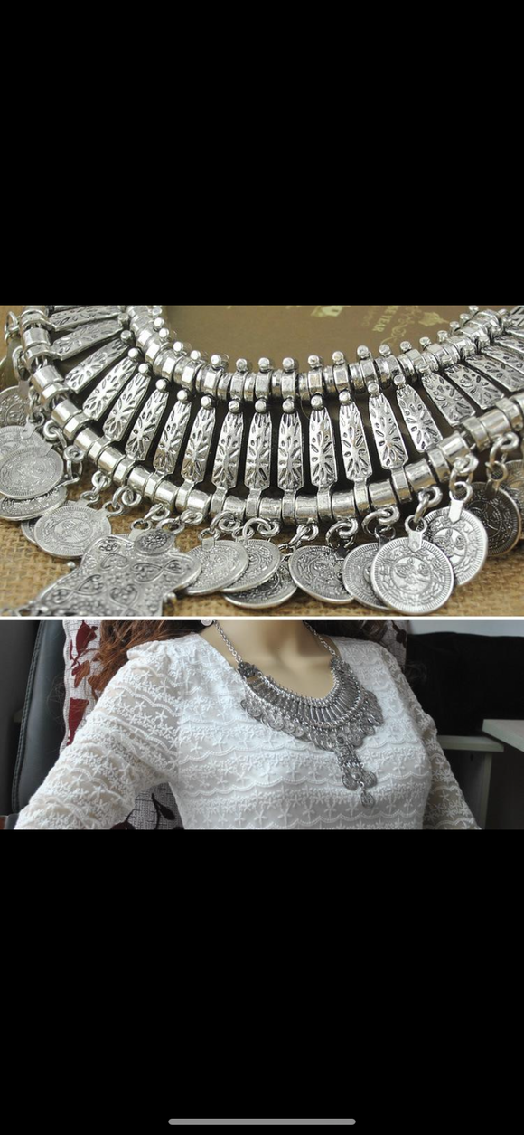 Coin Bohemian Necklace
