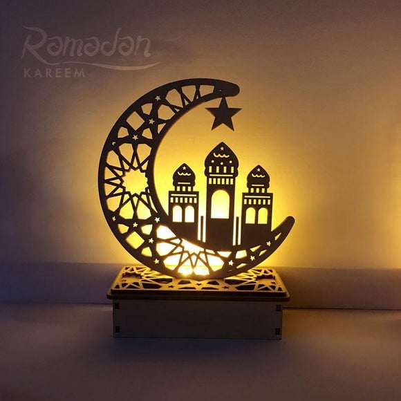 Minaret Wooden Centerpiece