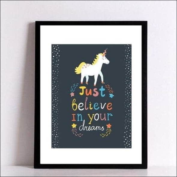 Inspirational Unicorn Print - Home & Garden