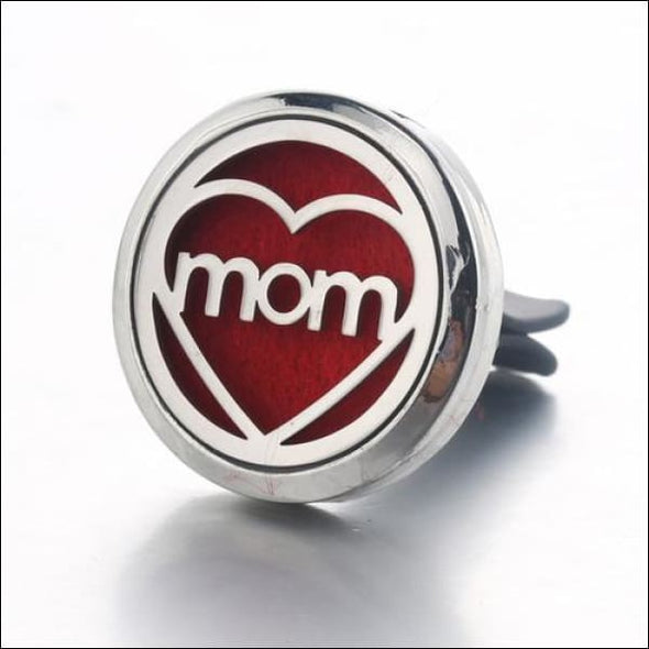 Moon & Star Car Air Diffuser Stainless Steel Vent - B - Jewelry & Watches