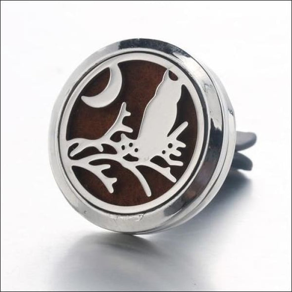 Moon & Star Car Air Diffuser Stainless Steel Vent - D - Jewelry & Watches
