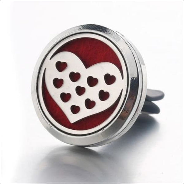 Moon & Star Car Air Diffuser Stainless Steel Vent - E - Jewelry & Watches