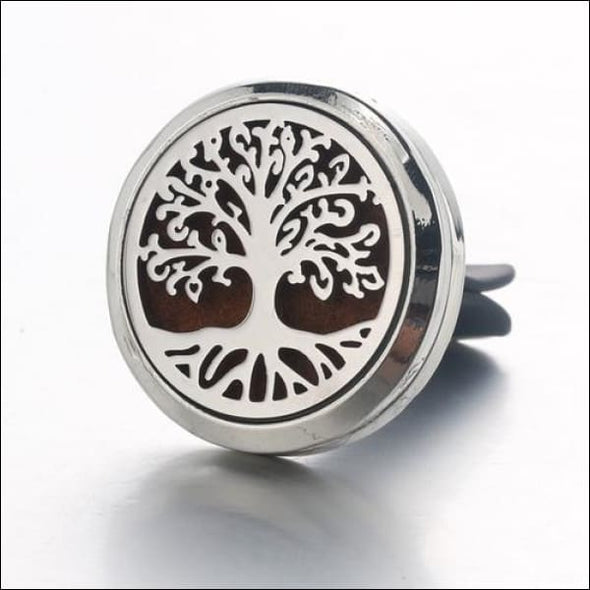 Moon & Star Car Air Diffuser Stainless Steel Vent - K - Jewelry & Watches