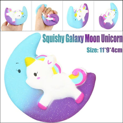Squishies Scented Unicorn And Moon Sqeeze Toy