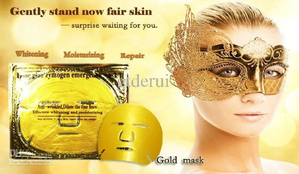 "Anti-Aging ""Golden Girl"" GEL Manicure & Golden Girl Pedi Pampering Package+ FACIAL MASK"