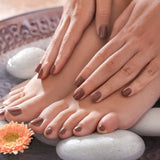 Pampering Package Spa Gel Manicure & Lavish Pedicure for two people,