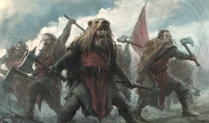 Why were the Berserkers so feared in battle?
