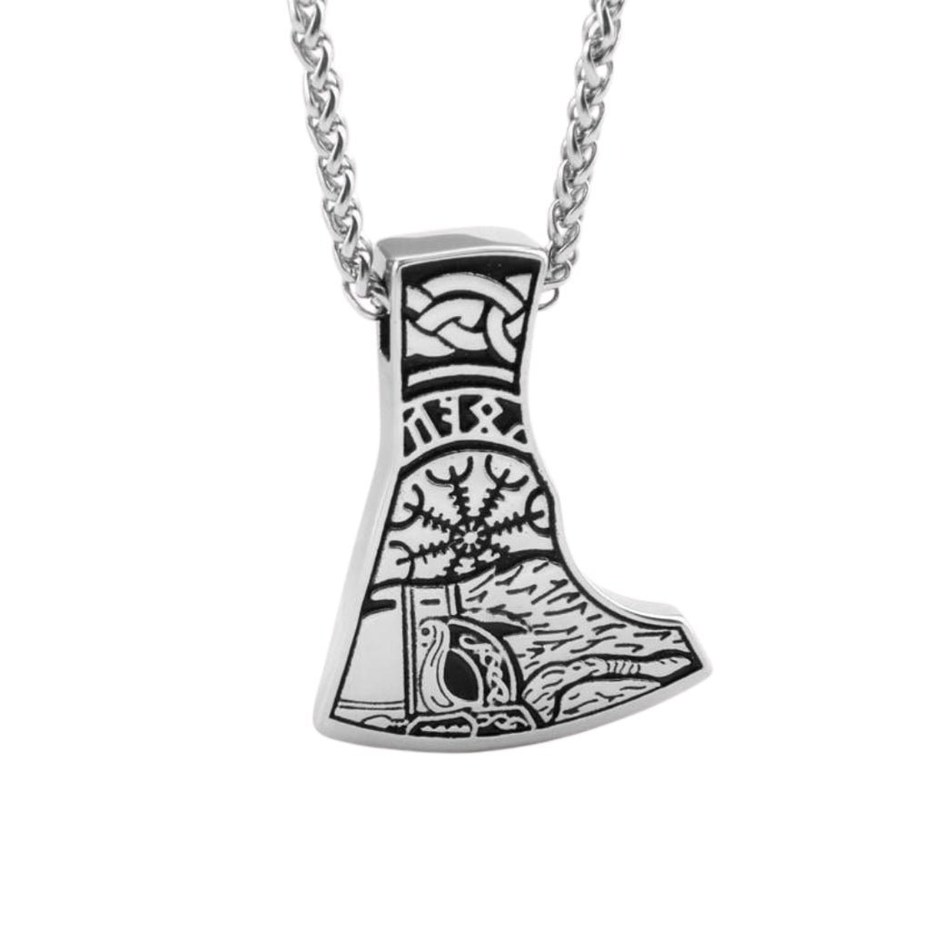 Stainless Steel Warriors Necklace