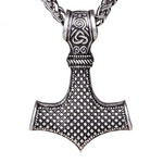 mjolnir viking necklace
