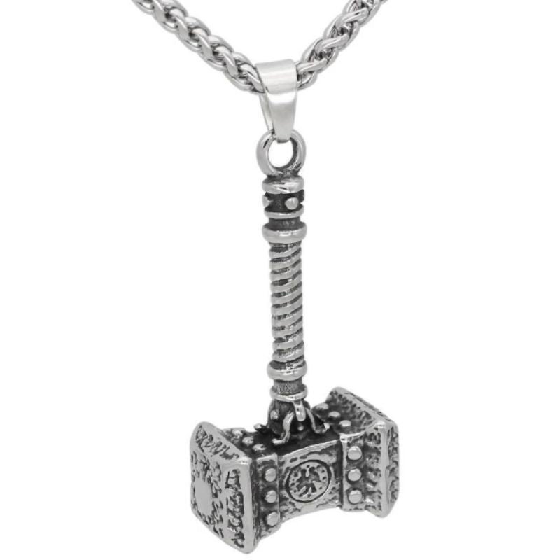 Stainless Steel Ancient Thor's Mjölnir Necklace - VikingLifestyles