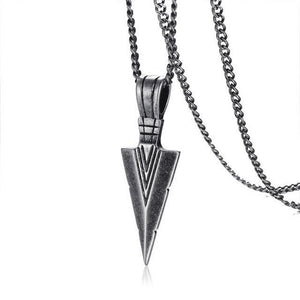 Stainless Steel Gungnir Necklace