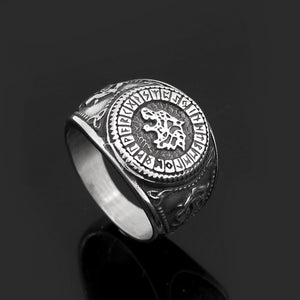 Stainless Steel Fenrir Ring