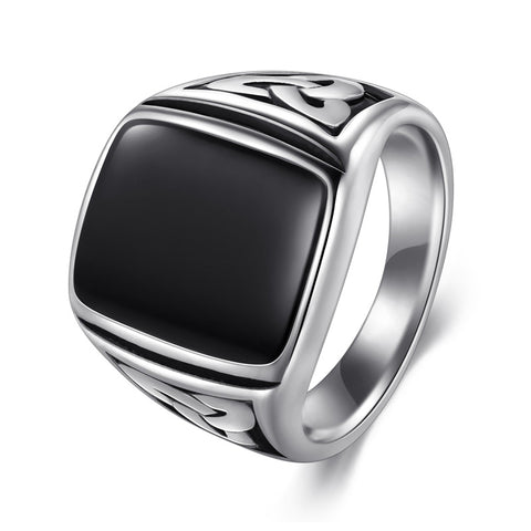 Image of Stainless Steel Trinity Knot Ring - VikingLifestyles