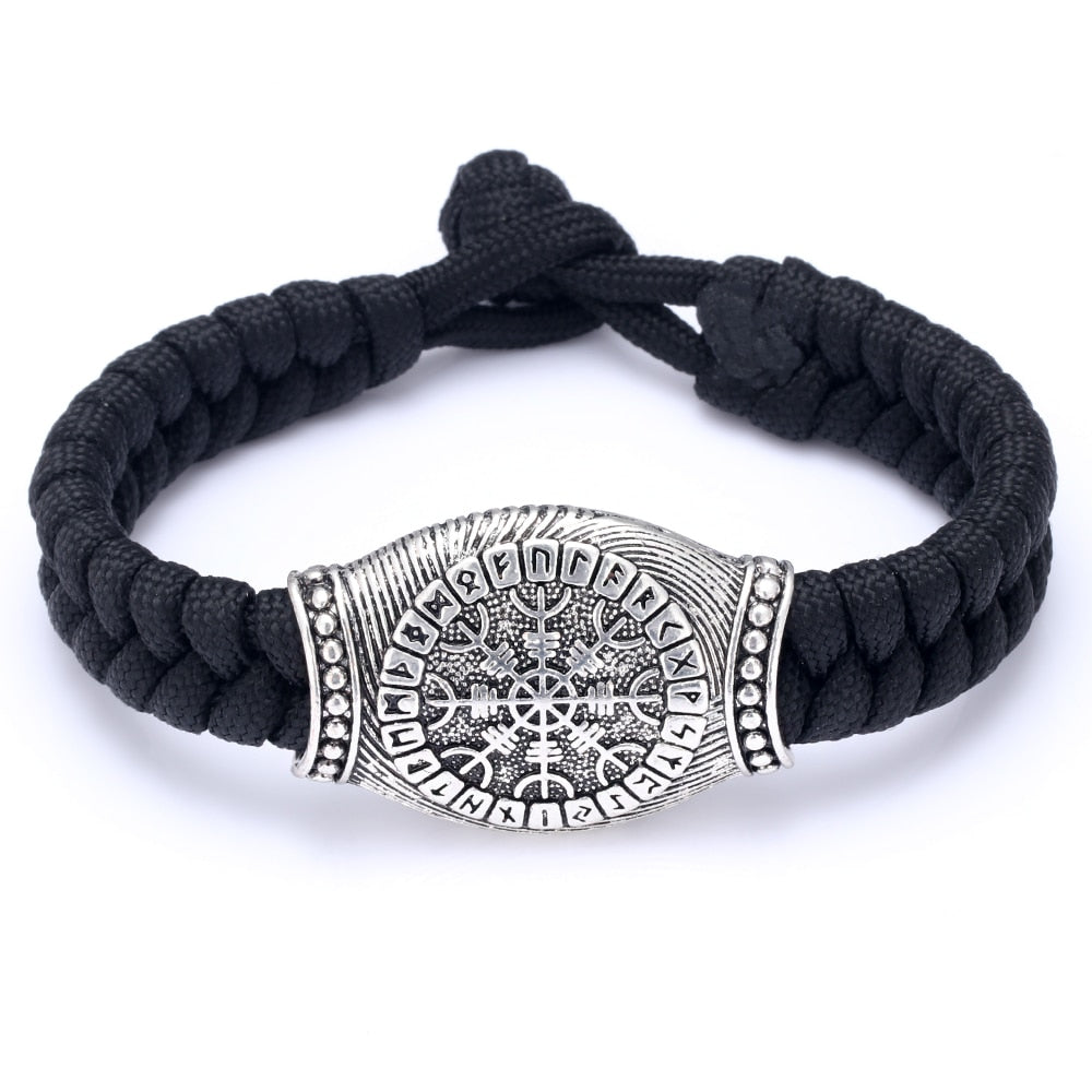 Laced Helm of Awe Bracelet - VikingLifestyles