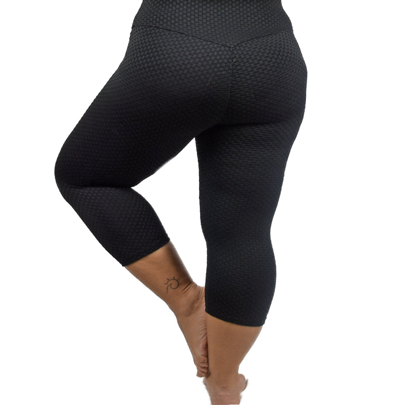 Scrunch Butt Sculpting High Waisted Capris