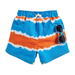Tie Dye Swim Trunk Sunglass Set