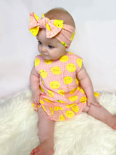 RUFFLE TOP & BLOOMER SET