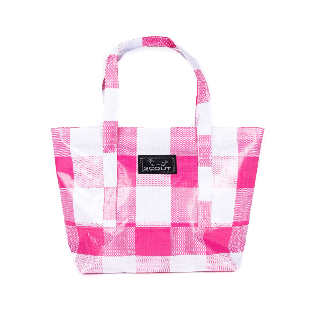 TOTEWORTHY PINK CHECK