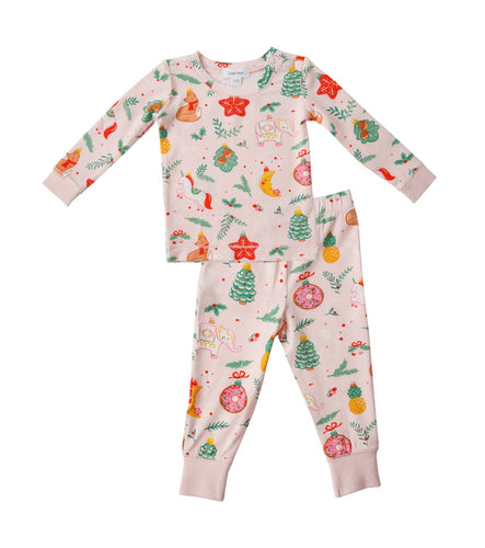 Pajama Set Holiday Ornament
