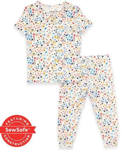 Magnetic 2pc Toddler Pajama Starburst