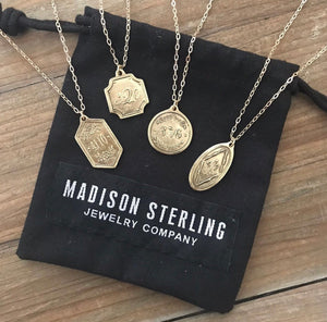 Madison Sterling Necklace