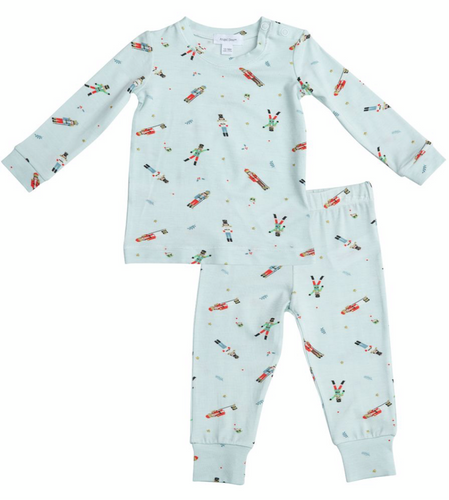 Pajama Set Mint Nutcracker