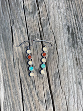 Load image into Gallery viewer, PENSACOLA BEACH SAND MULTI STONE EARRINGS