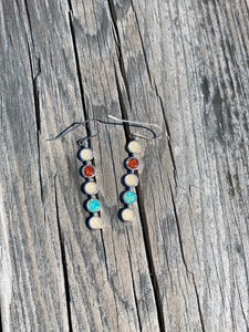 PENSACOLA BEACH SAND MULTI STONE EARRINGS