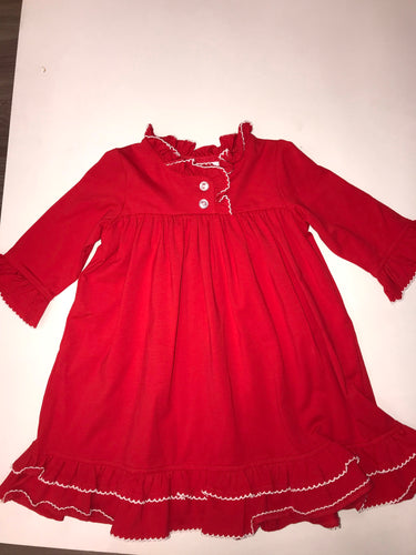 Red Sleep Gown
