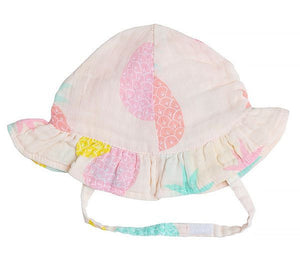 Muslin Sunhat Pineapples