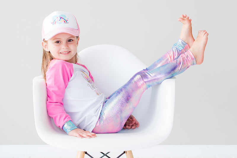 Iridescent Unicorn Leggings