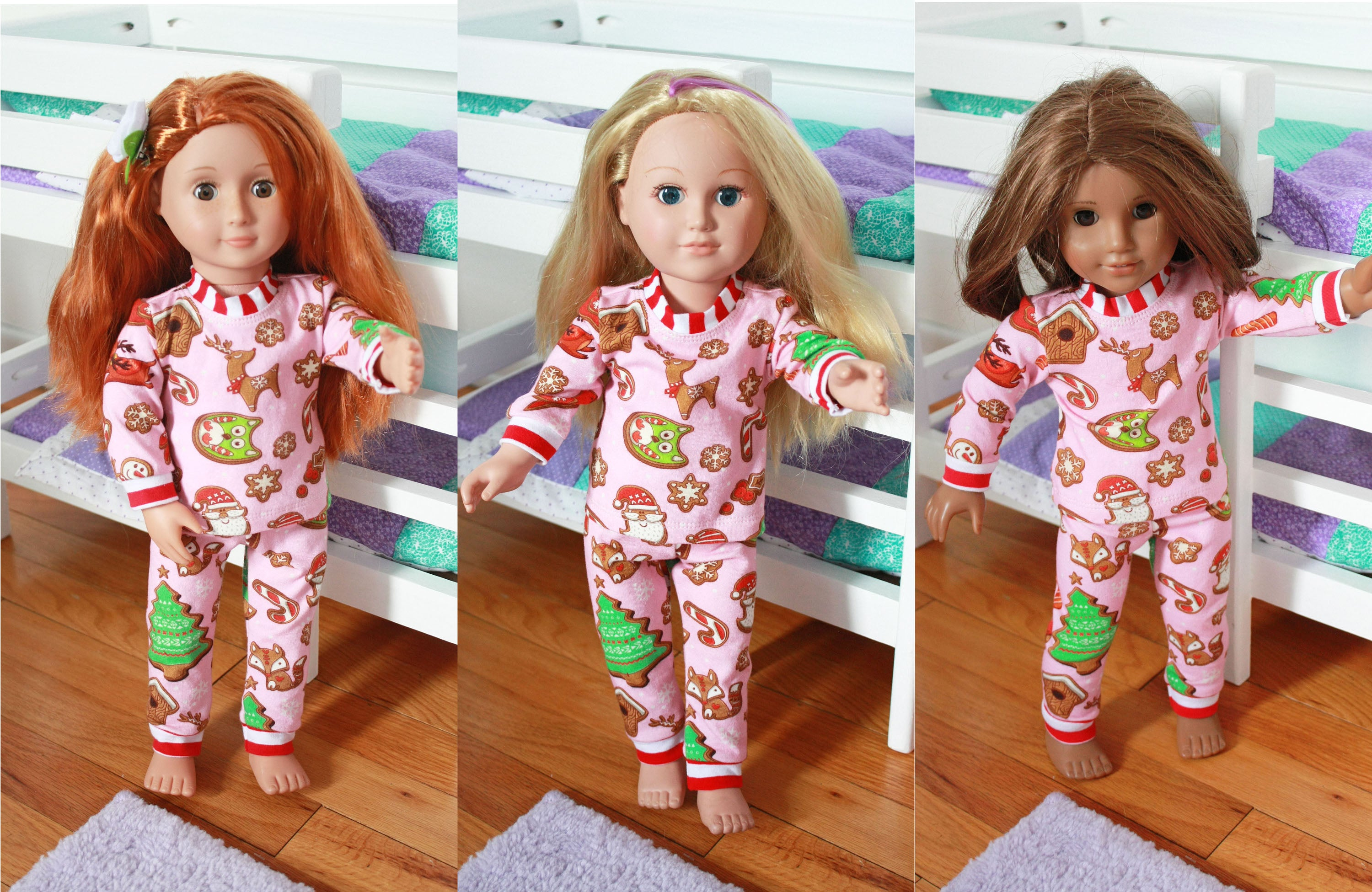 Dolly & Me Matching Pajama Sets