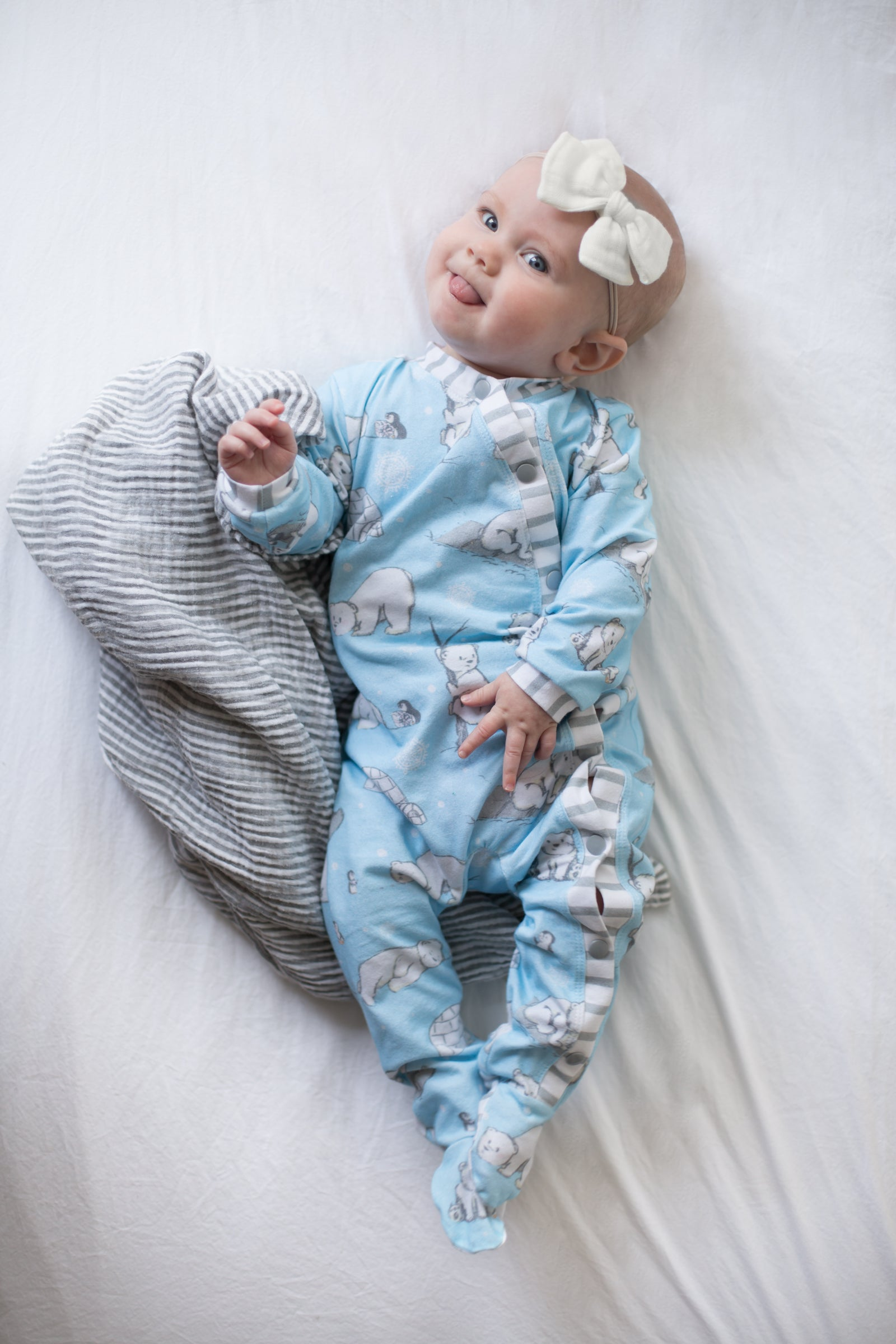 Infant Snap-Up Pajamas