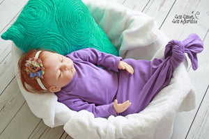 Knotted Baby Gown