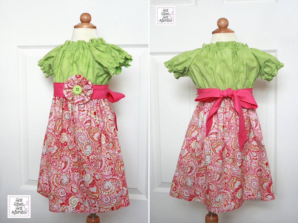 Posie Peasant Dress