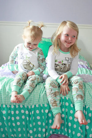 Kid's Sloth Pajamas
