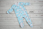Christmas Infant Snap-Up Pajamas
