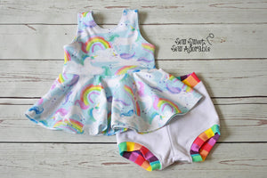 Unicorn Bummies Outfit