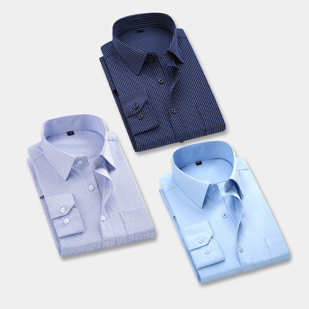 3 FORMAL STYLISH  COMFORTABLE SHIRTS FOR MEN