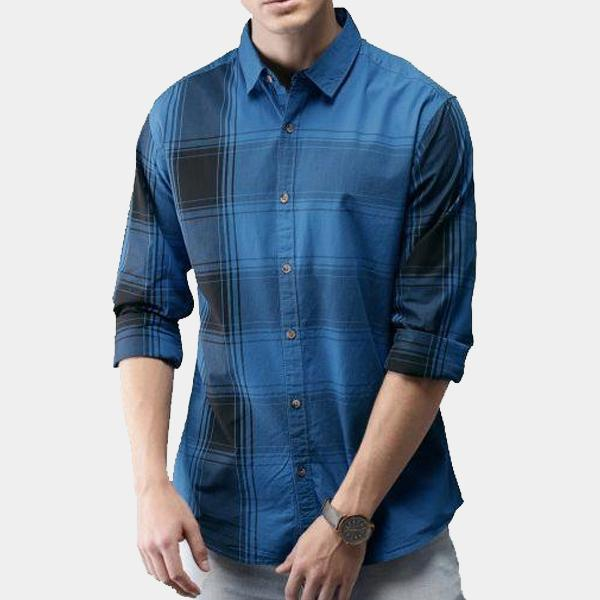 COMBO OF 3 BRANDED DENIM MULTICOLOUR MEN'S SHIRTS