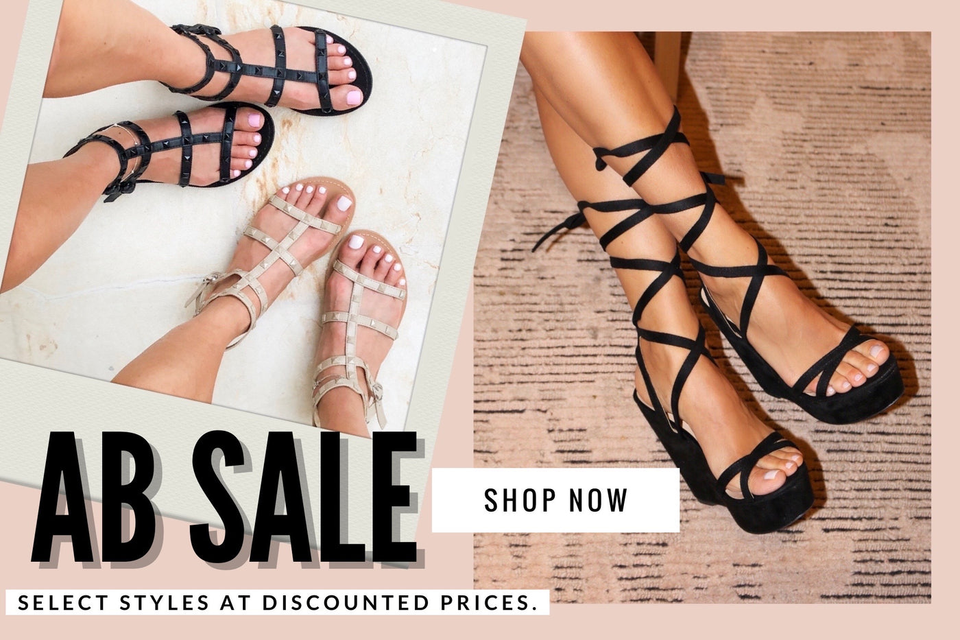 Alexandria Brandao Shoe Sale - select styles at discounted prices