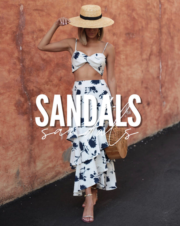 #SHOP OUR COLLECTION OF SANDALS