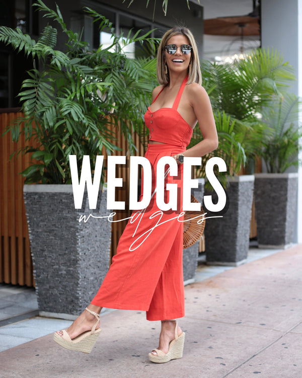 #SHOP OUR COLLECTIONS OF WEDGES