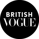 BRITISH VOGUE Logo. Alexandria Brandao Shoes was featured in British Vogue in September 2018, August 2018 and October 2018.