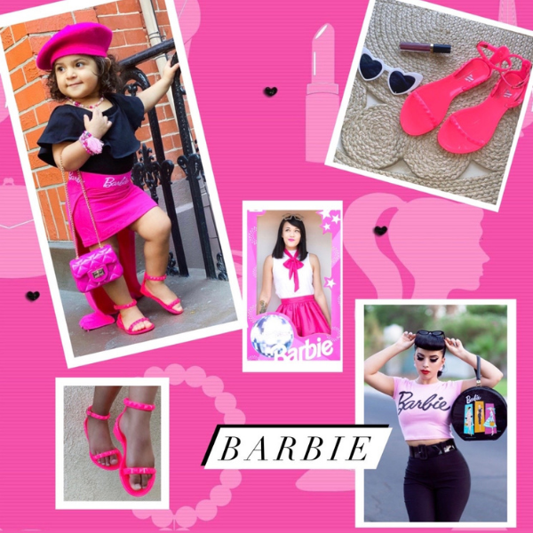 Halloween Barbie costume for women and kid's