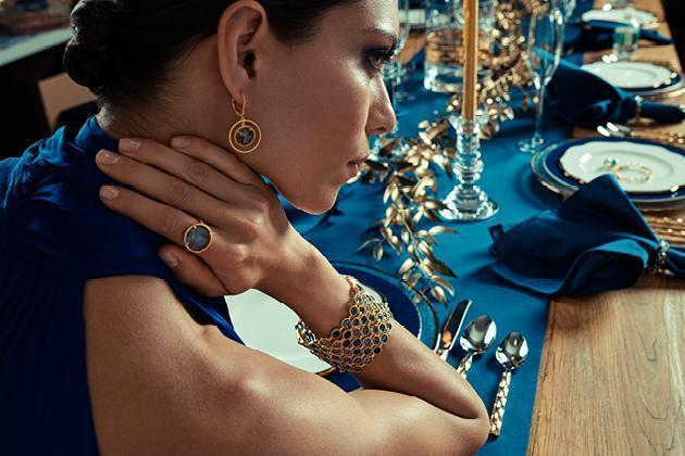 Holiday Jewelry Imperial Blue