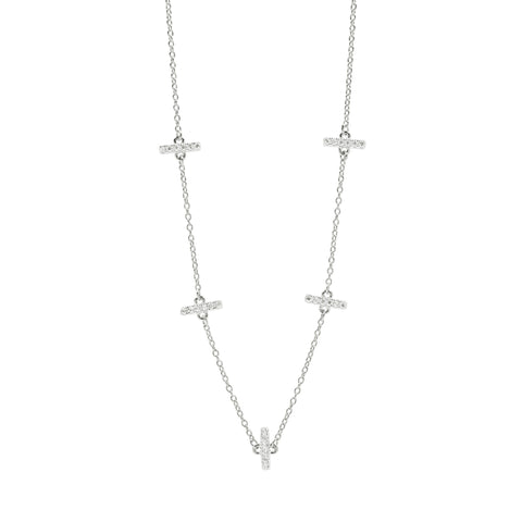 "Radiance 16"" & 40"" Station Necklace"