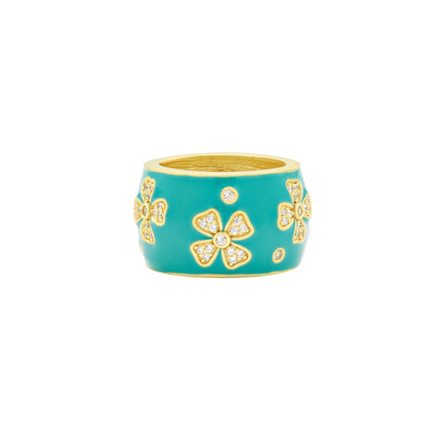 Harmony Flower Cigar Band