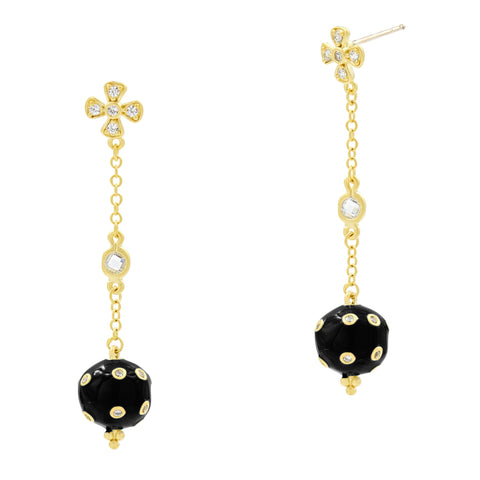 Harmony Ball Drop Earring